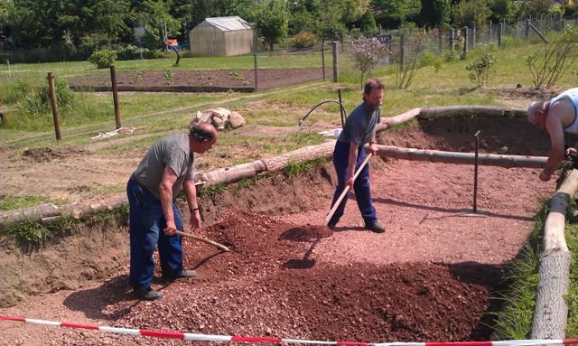 Kleingärtnerverein Ostrau e.V. - Wir gärtnern seit 1956 - 2 - Naturerlebnisplatz